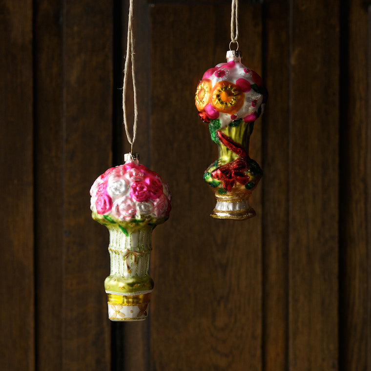 Parisian Posies Ornament