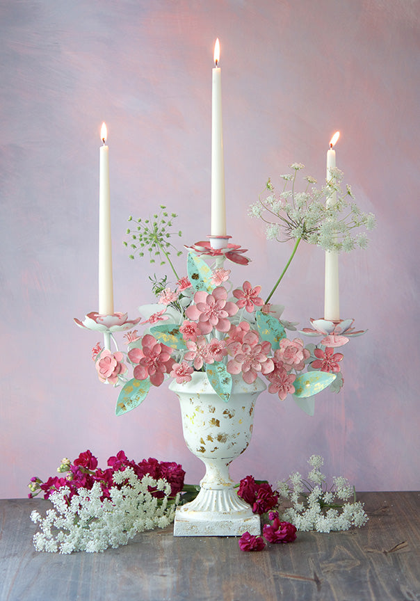 Garden Party Taper Candelabra
