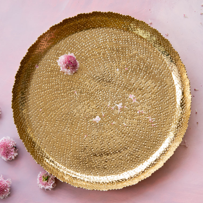 Gilded Gold Tray