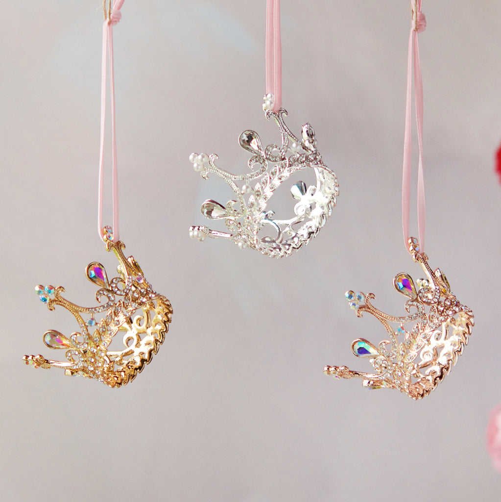 Crown Ornament (3 Assortment)