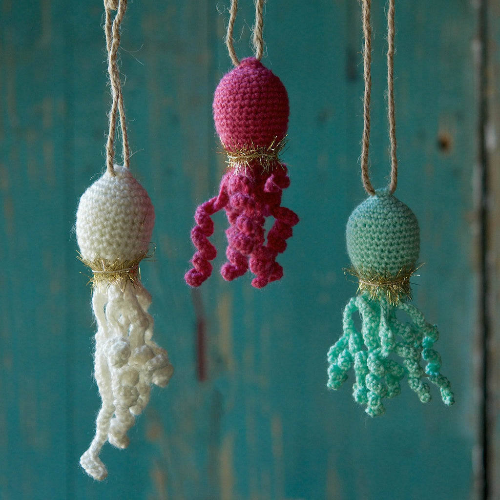 Knit Octopus Ornament
