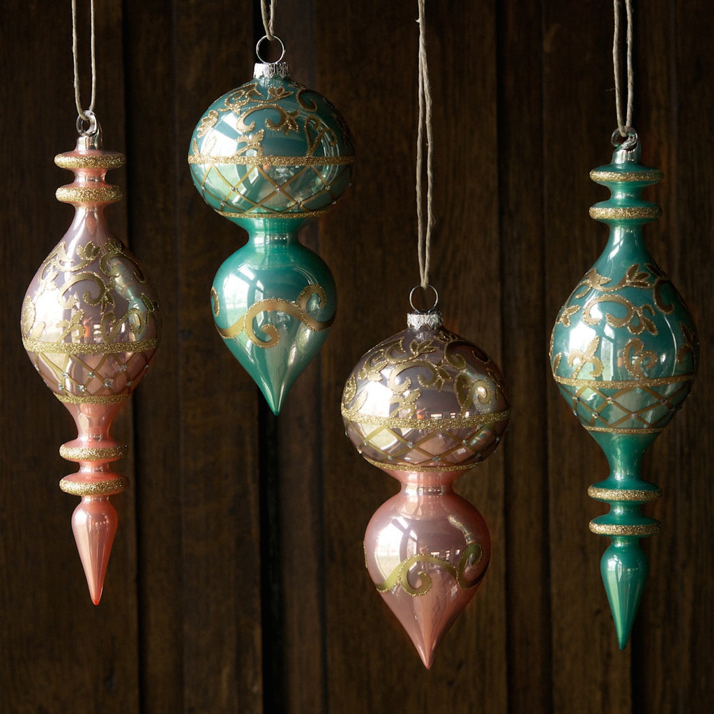 Pastel Finial Ornament