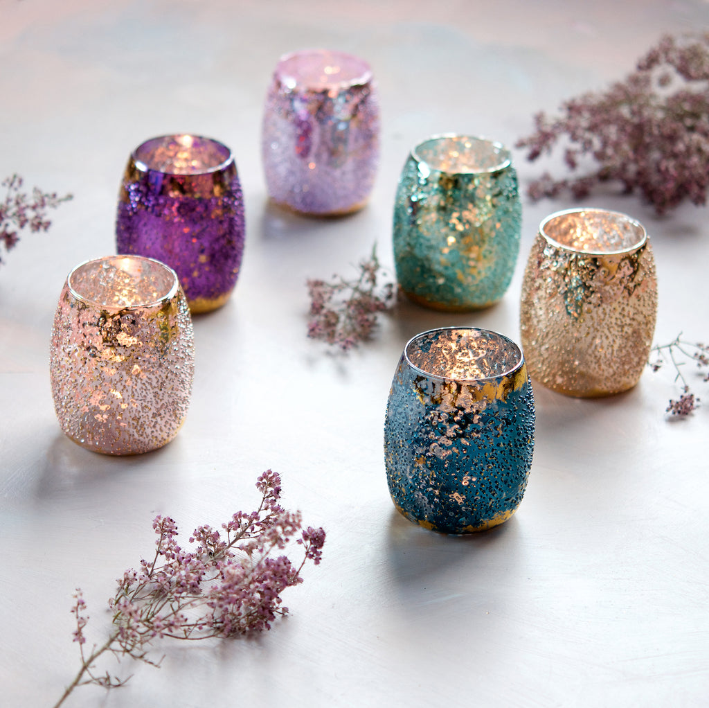 Stubbled Votive (6 Assortment)