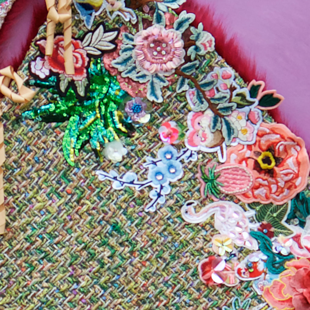 Piles of Patches Tree Skirt