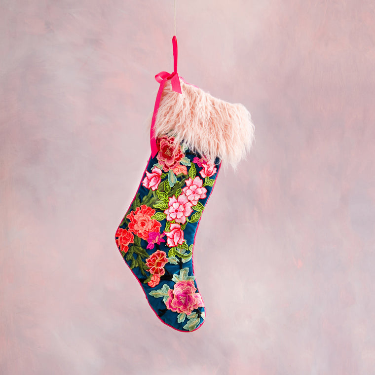 Ring Around the Posies Stocking