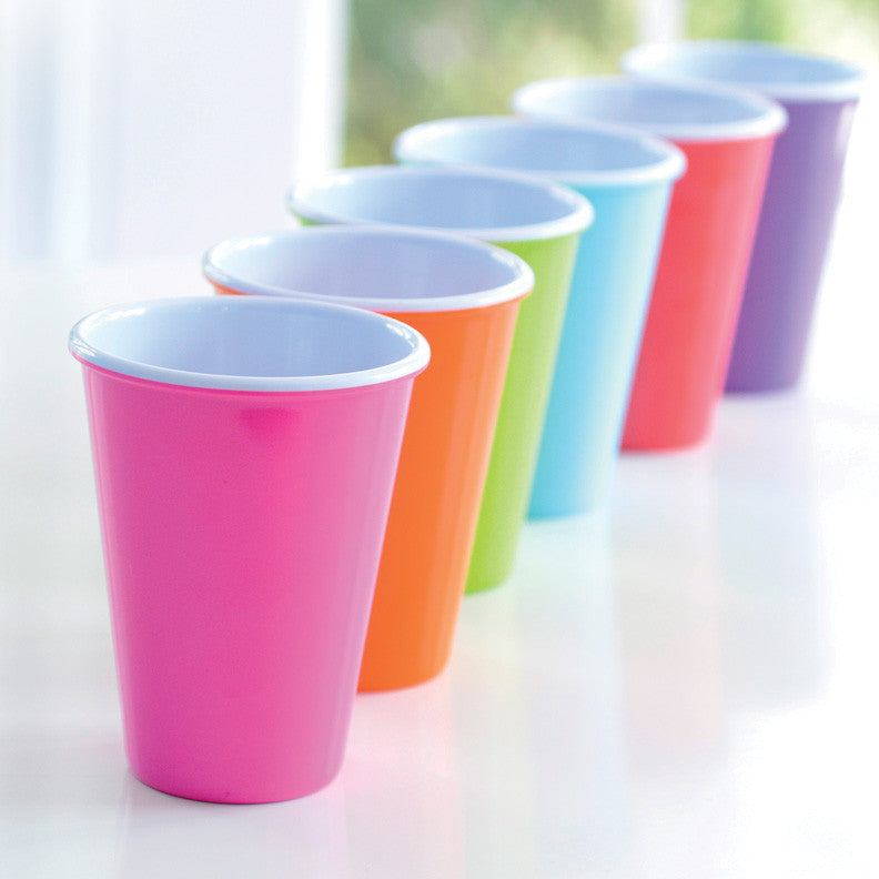 Glitterware Cup, Set of 6