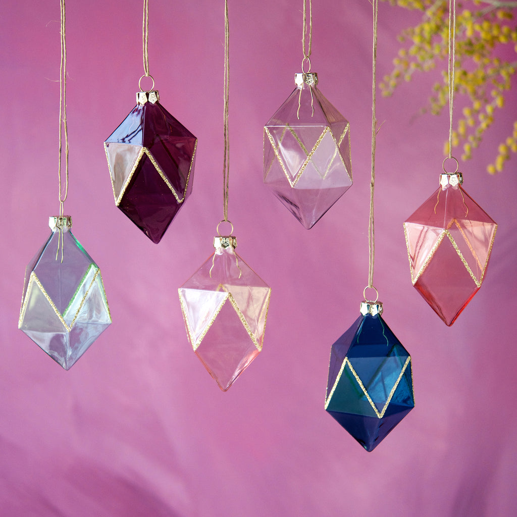 Gem Ornament (6 Assortment)