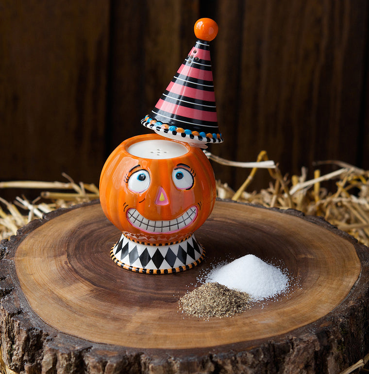 Dumplin' Pumpkin Salt & Pepper Shaker