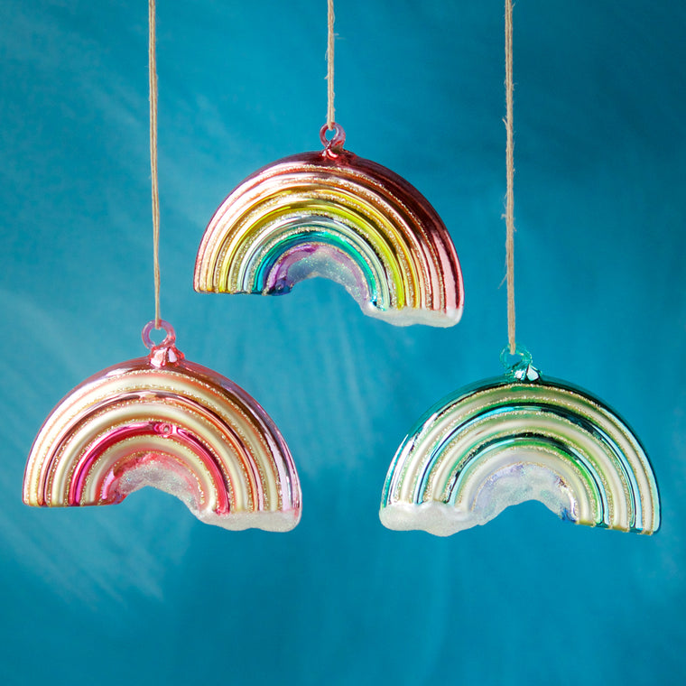 Rainbow Ornament (3 Assortment)