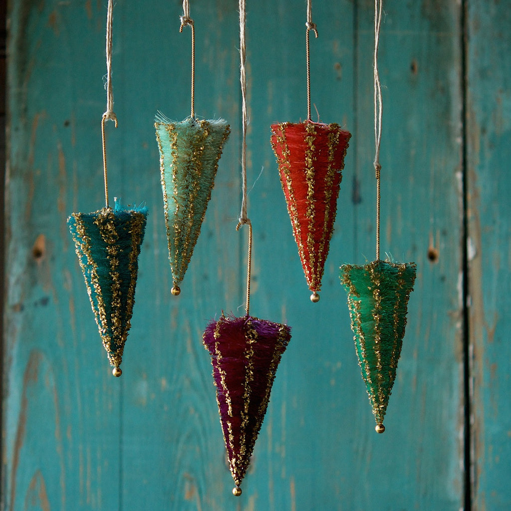Sisal Umbrella Ornament