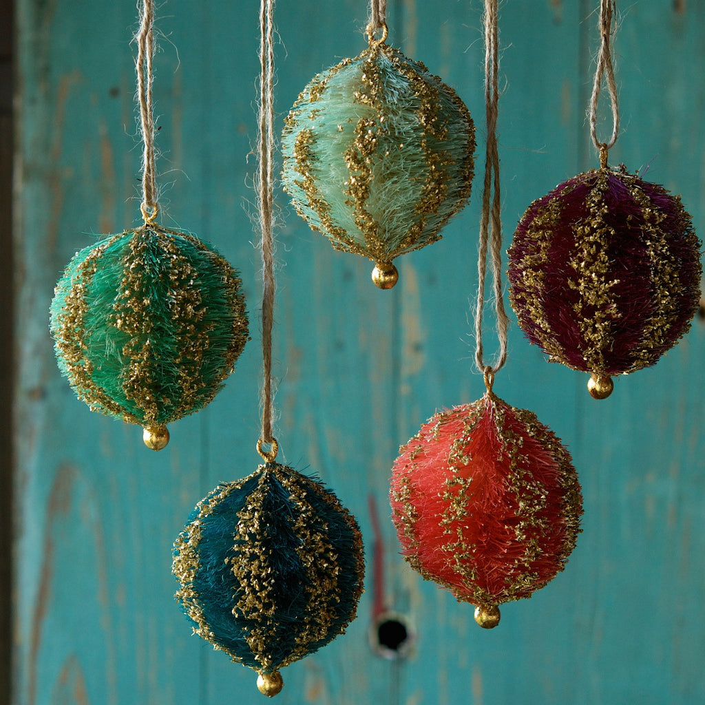 Sisal Ball Ornament