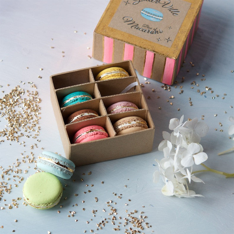 Box of Macarons, Set of 8