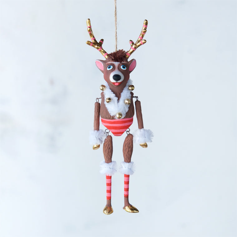 La Renne the Reindeer Ornament