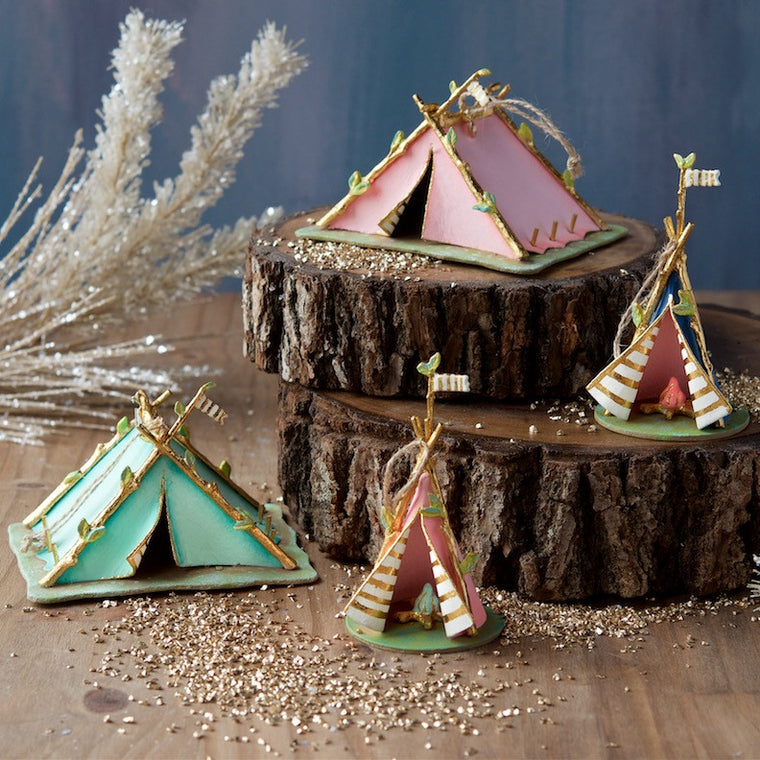 Tent & Teepee Ornament