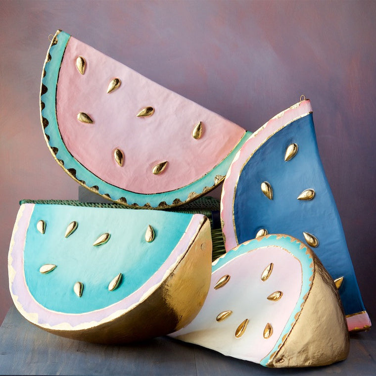 Watermelon Wedge, Set of 4