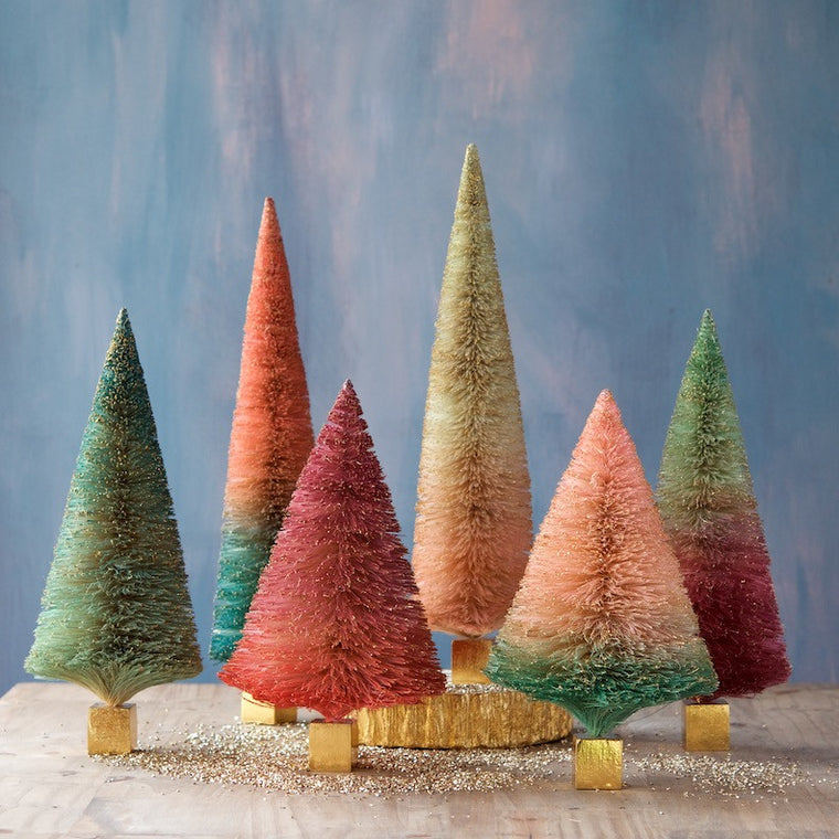 Two Tone Ombre Sisal Trees