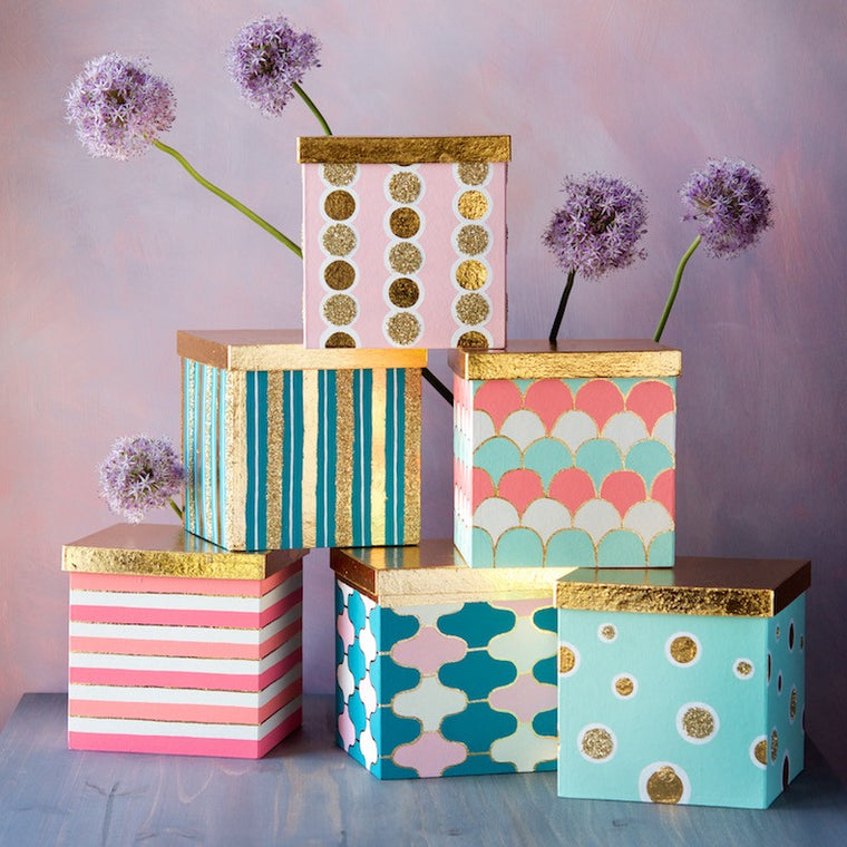 Patterned Gift Box