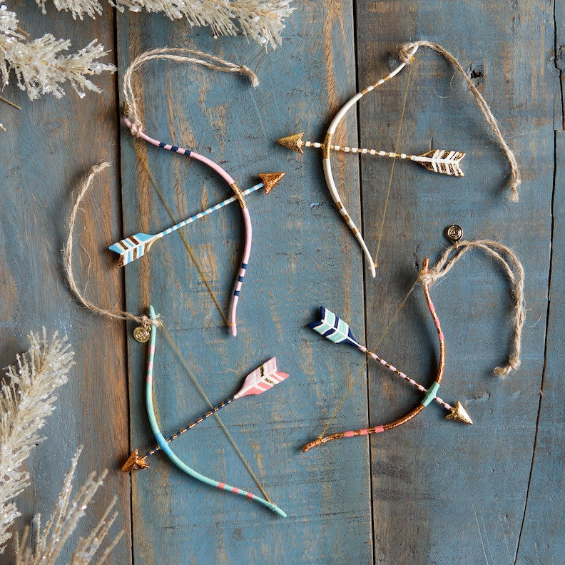 Bow & Arrow Ornament