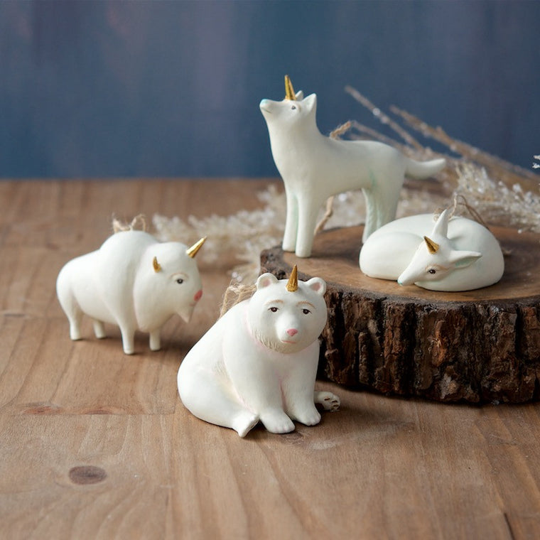 Unicorn Animal Ornaments