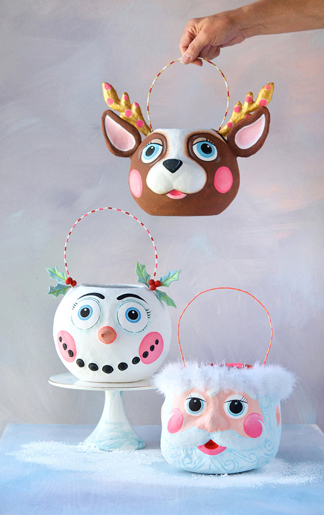 Frosty Folly, Papa Noel & La Renne the Reindeer Bucket