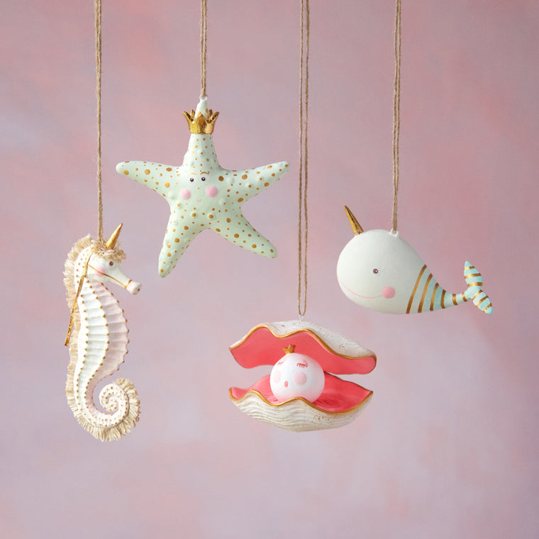 Sea Party Ornaments