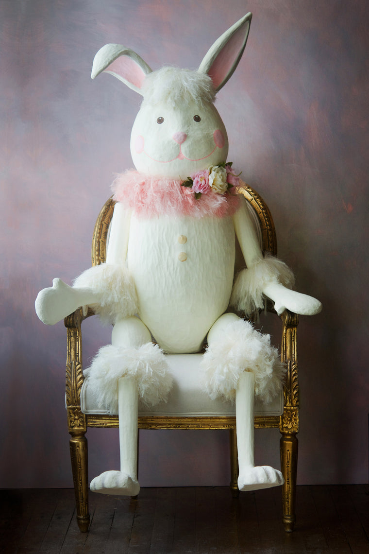 Cotton Candy Tail Bunny Display