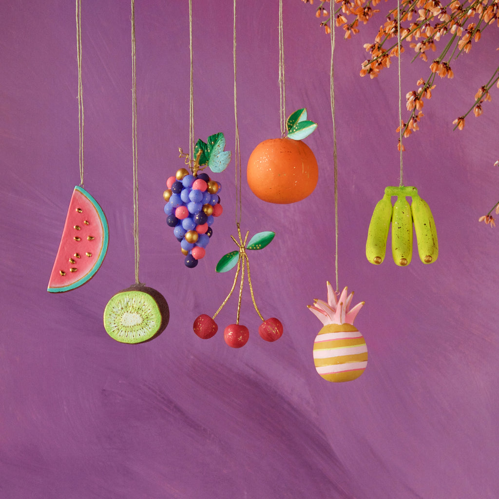 Fruit Ornament (7 Assortment)