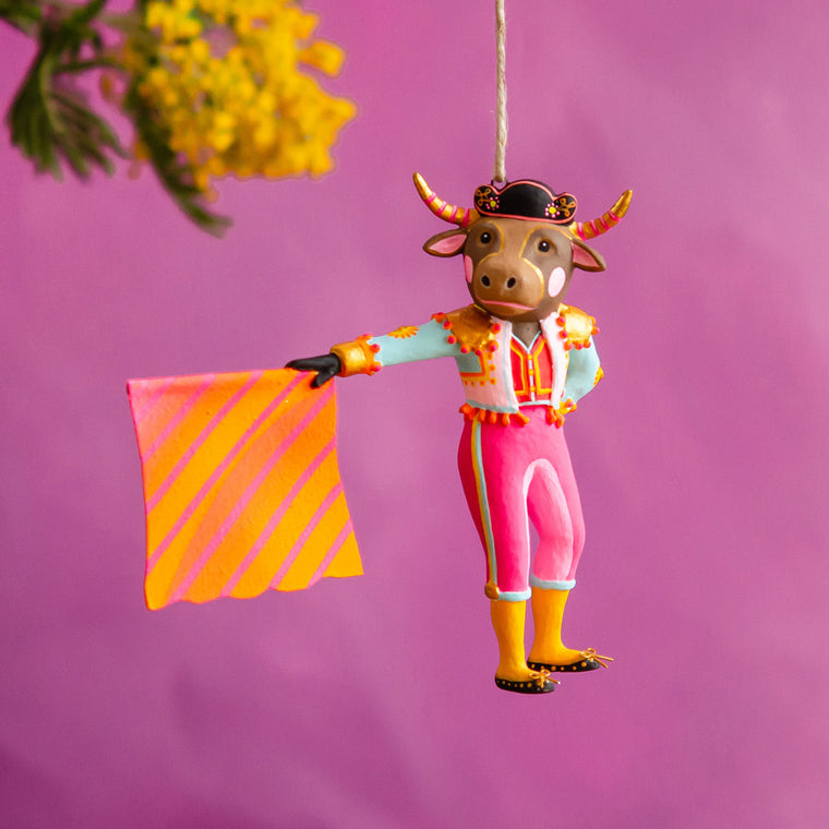 Bull-Ador Ornament