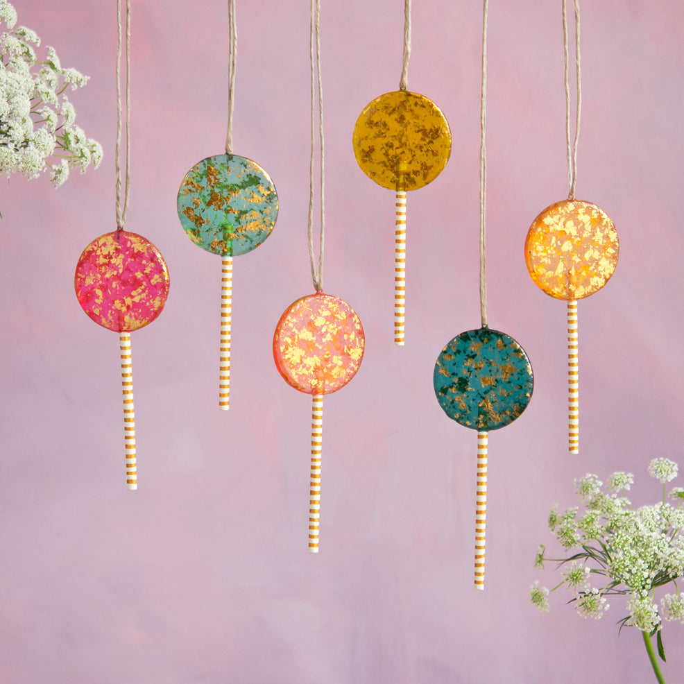 Lollipop Ornament
