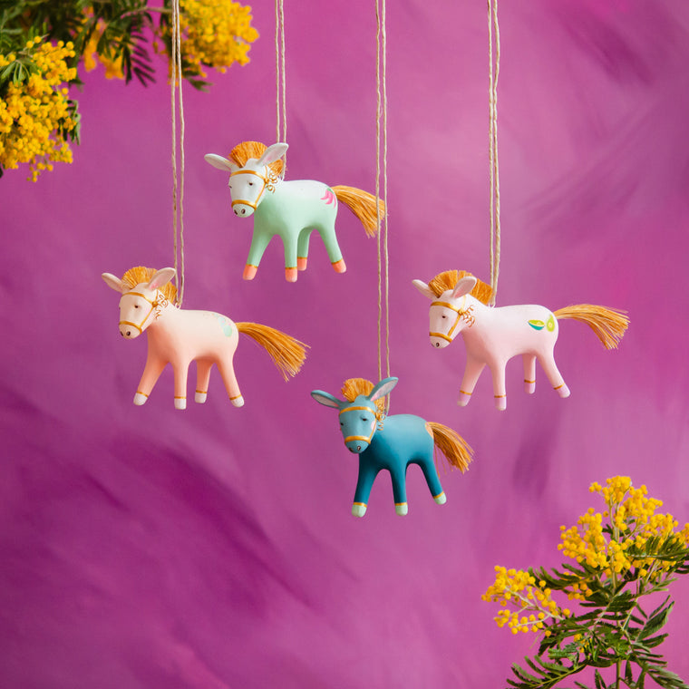 """Busby"" Burro Buddies Ornaments"