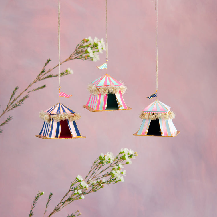 Parisian Party Tent Ornament