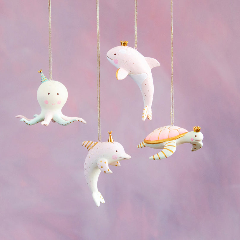 Sea Party Animals Ornaments