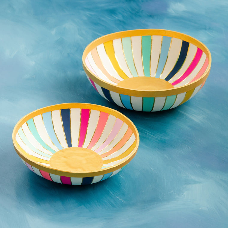Rainbow Bowl, Set of 2