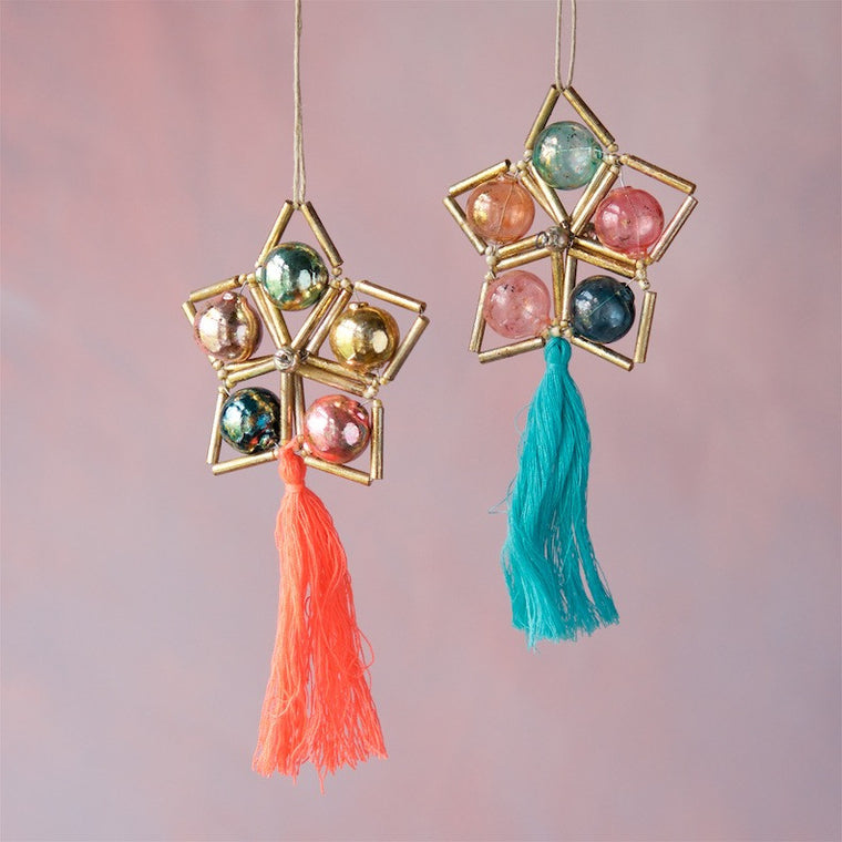 Star Tassel Ornament