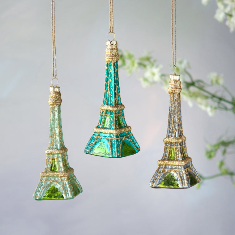Cool Shades Eiffel Tower Ornament