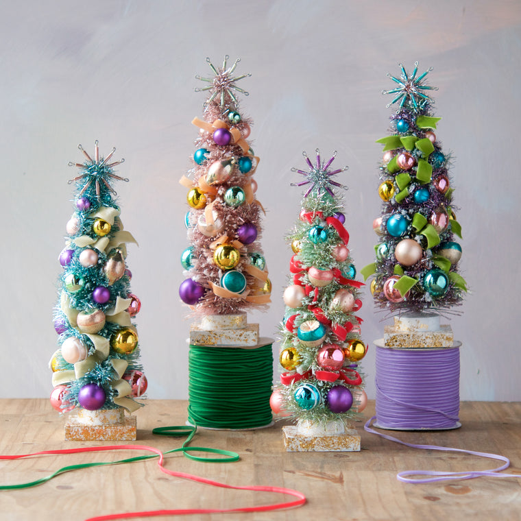 Pastel Vintage Tree (4 Assortment)