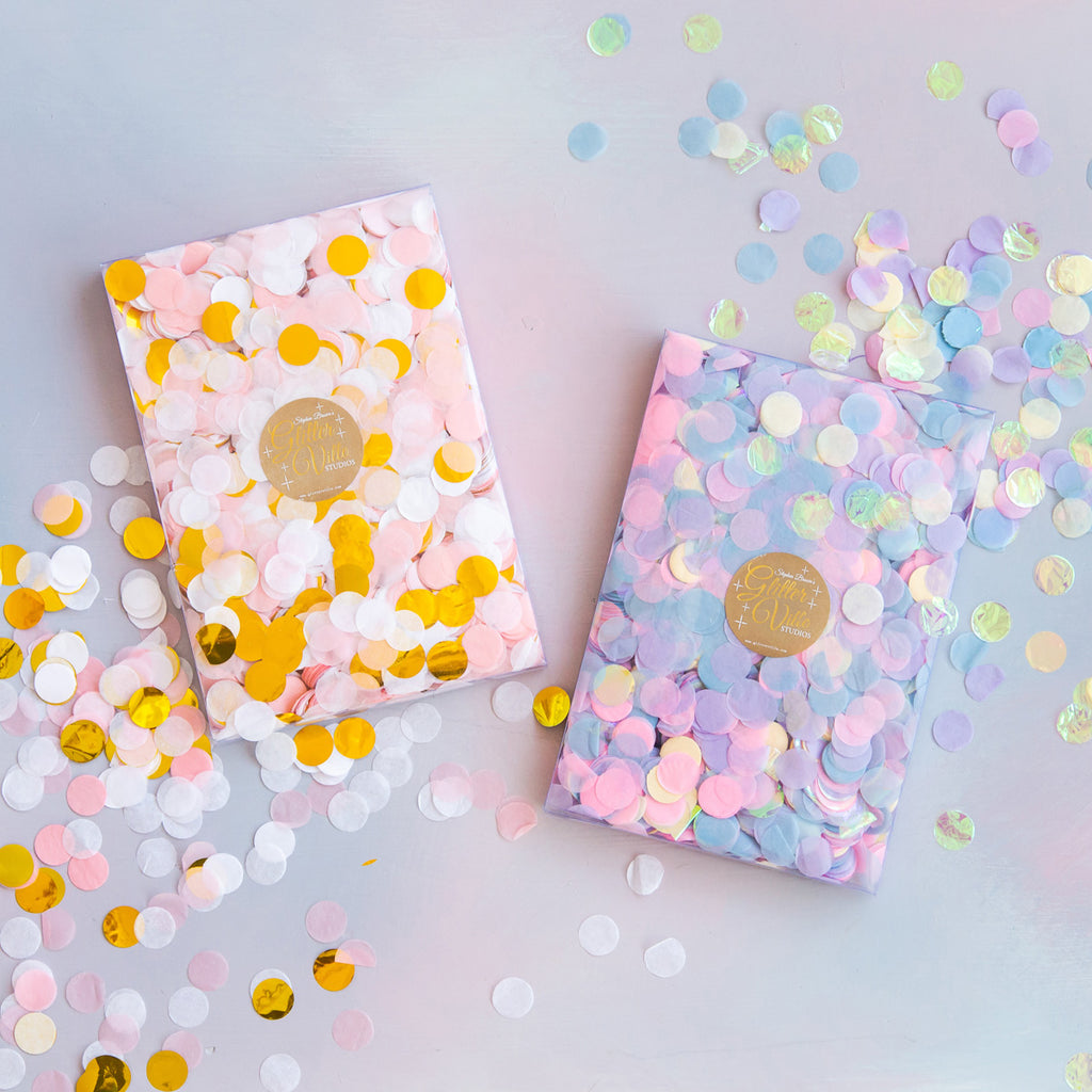 Pinky & Purply Party Confetti