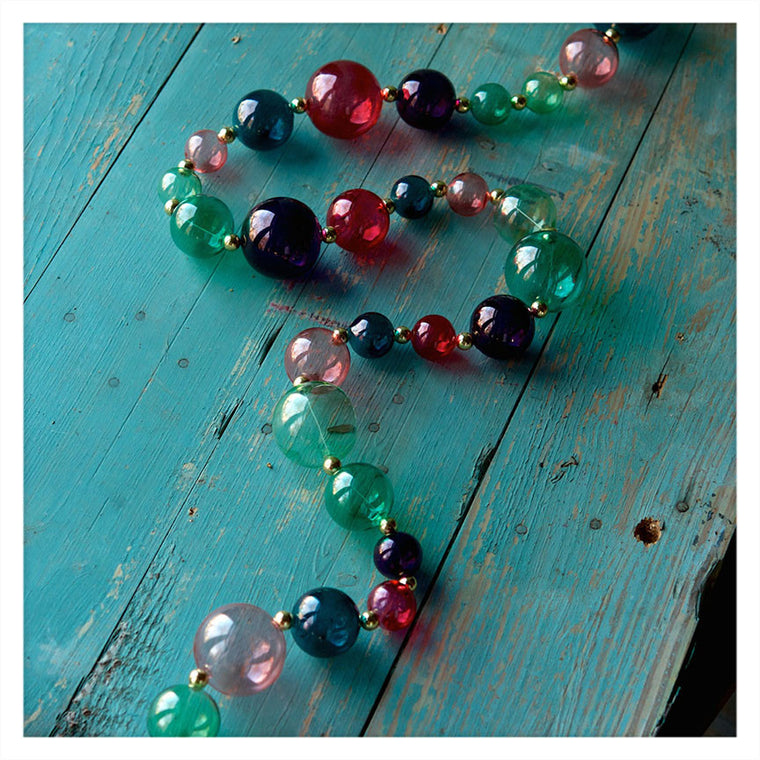 Sea Bubbles Glass Garland