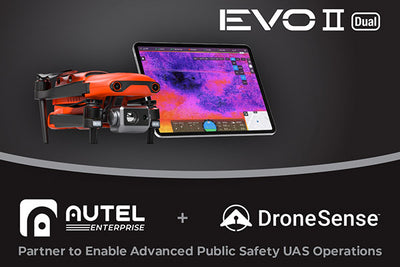 Autel Robotics and DroneSense Partner to Enable Advanced Public Safety UAS Operations