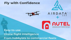 AirData and Autel Enterprise Partner for Data Analysis and Live Streaming