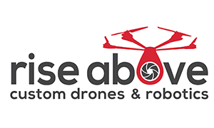 logo Rise Above Customs Drones
