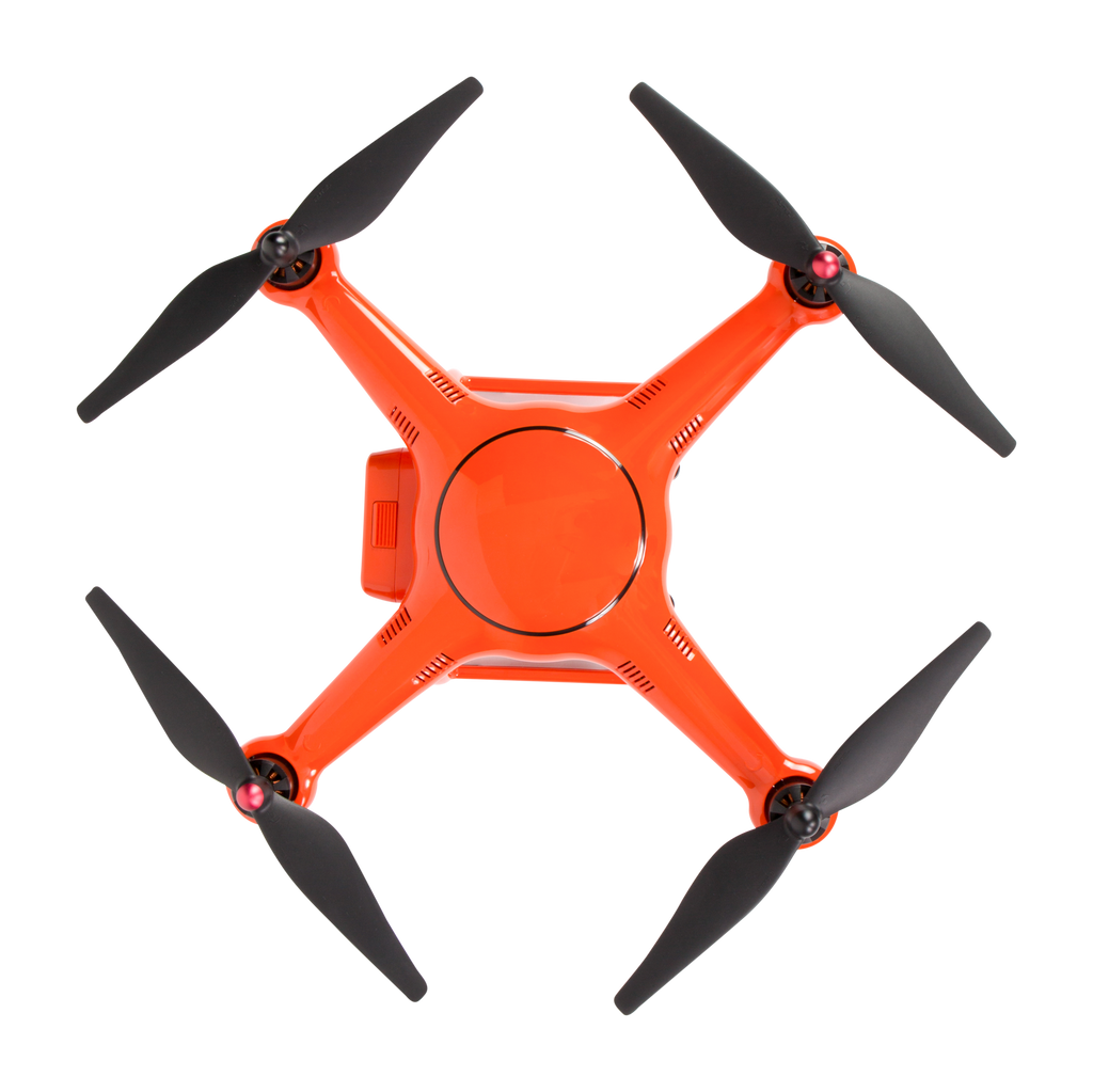 X-Star Premium (Orange) - Overhead View