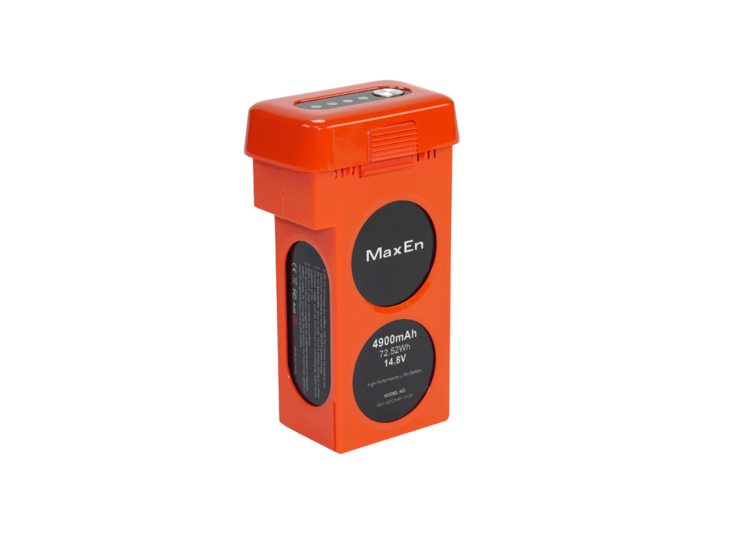 Battery (Orange) - Side