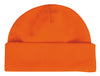 Blaze Orange Fleece Beanie
