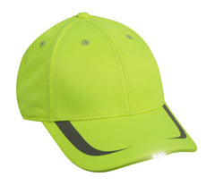 Reflective Safety Cap with Lights