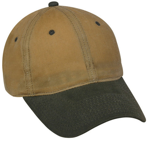 Waxed Cotton Canvas hat, water resistant, WAX606IS