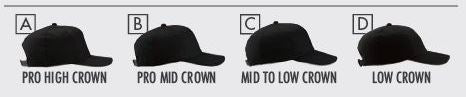 Ball Cap Profile Crown