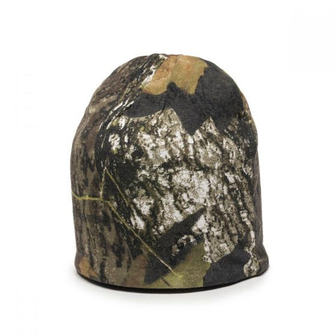 Reversible Camo Knit Beanie