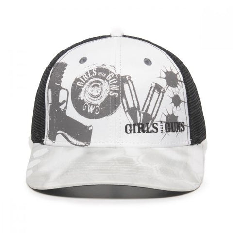 Full front view of hat