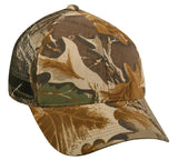 6 panel mesh back value camo hat